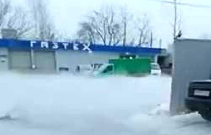 Костромичей напугала дымка возле газового предприятия