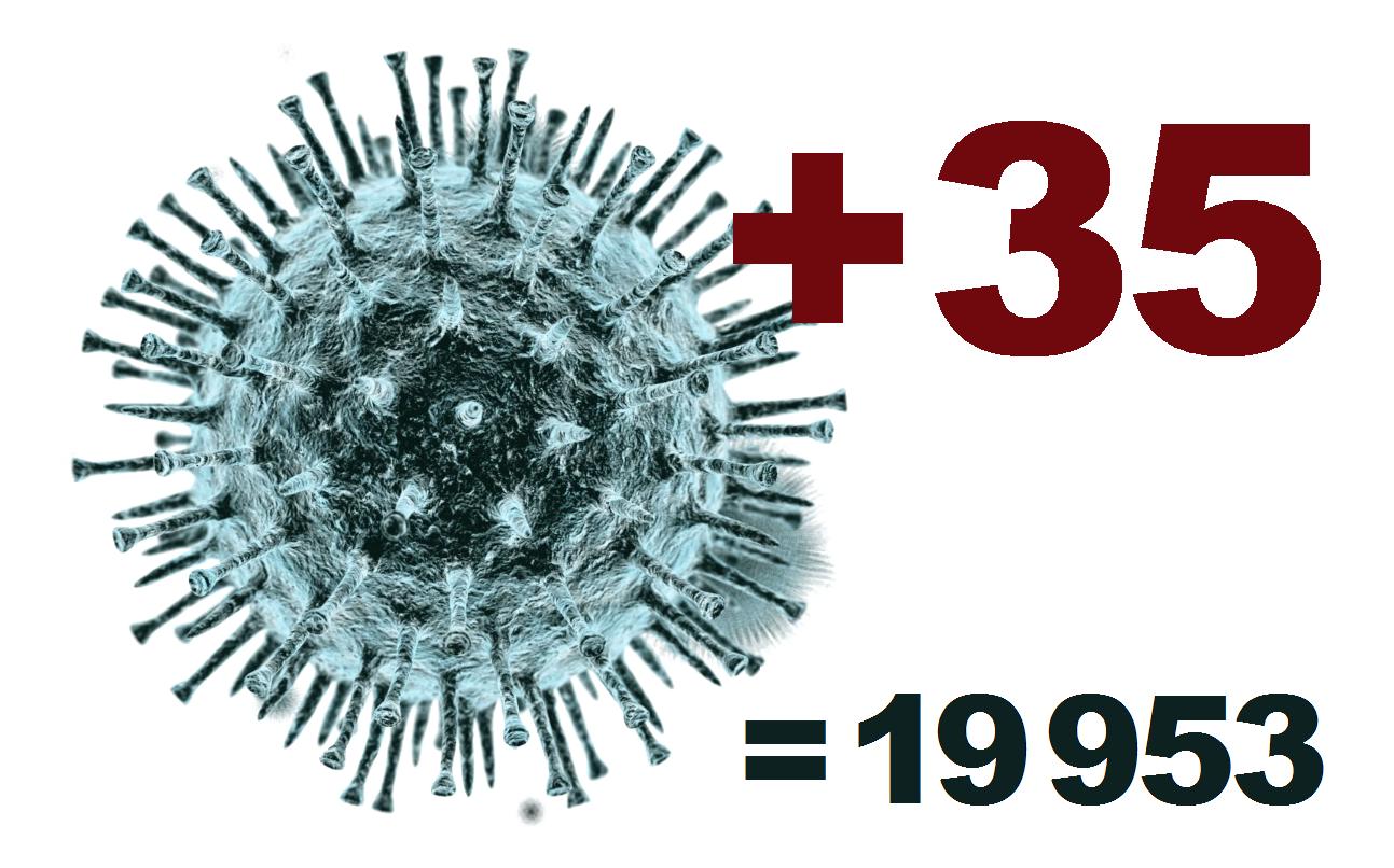 За сутки коронавирус подтвердился у 35 жителей Костромской области