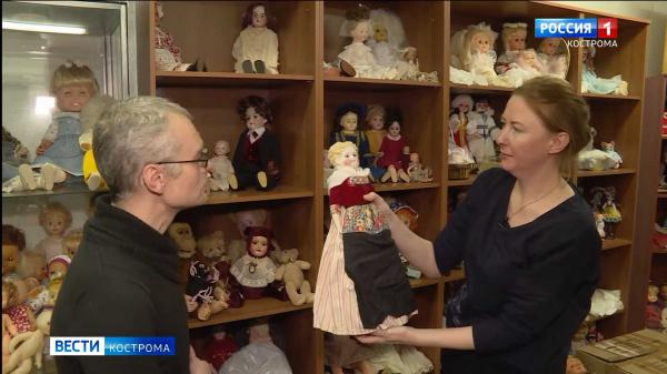 Костромичей посвятят в тайны жизни кукол