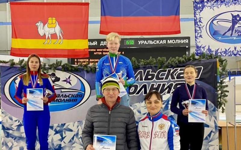 Костромские конькобежцы завоевали пять медалей на Кубке России