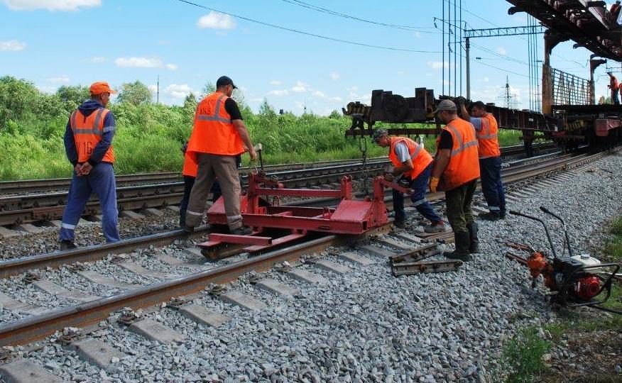Железную дорогу в Костромской области впервые отремонтировали по новой технологии