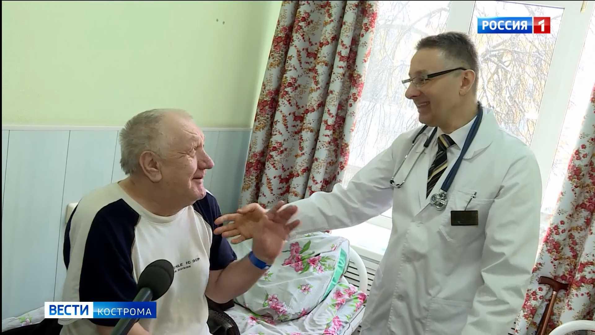 Госпиталь ветеранов в Костроме возобновил обычную работу