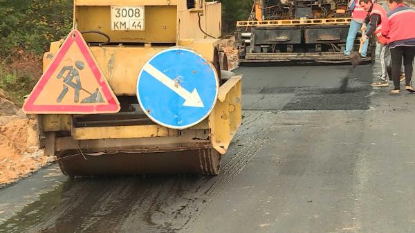 Дорогу Кологрив-Елизарово в Костромской области продолжат ремонтировать