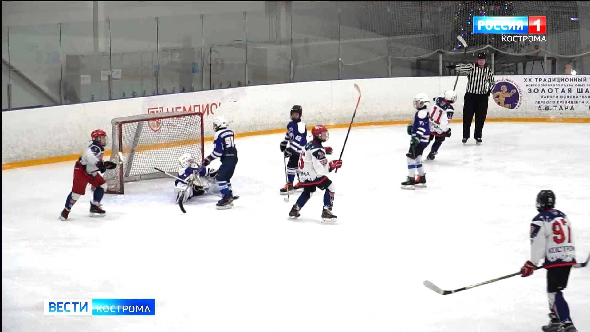 В Кострому приедут игроки КХЛ и молодёжной хоккейной лиги