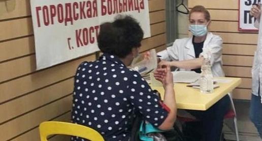 На ежедневный режим работы переведен прививочный пункт в ТЦ «Солнечный» в Костроме