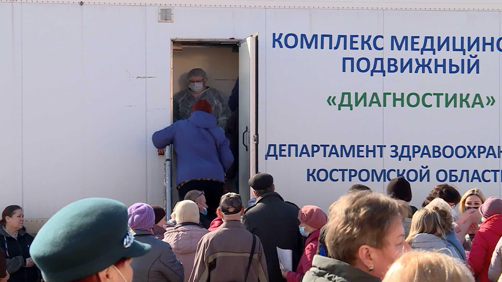 Вакцинация от коронавируса пройдет в субботу в Костроме и Поназыреве