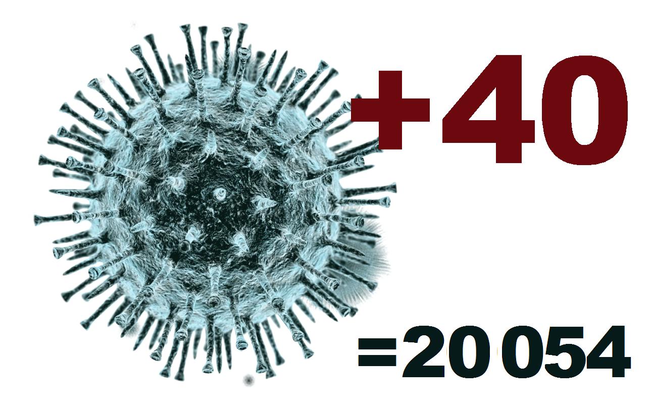 За сутки коронавирус выявлен у 40 жителей Костромской области
