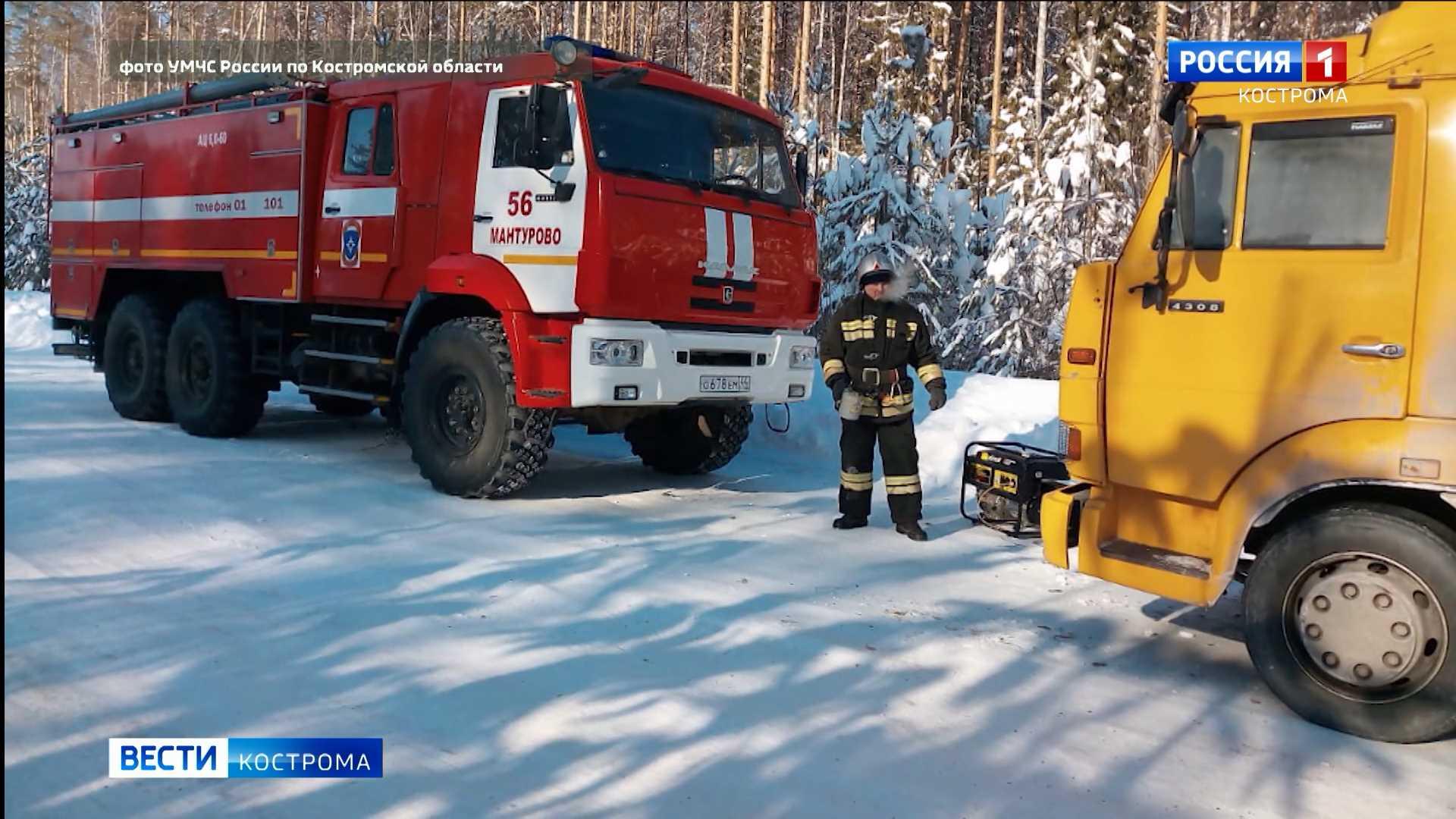 Испытание холодом в Костромской области выдержали не все