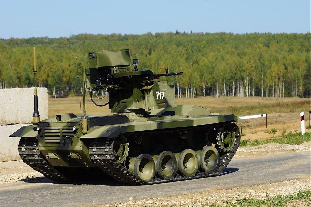 Боевые роботы «Нерехты» впервые применили на международных учениях