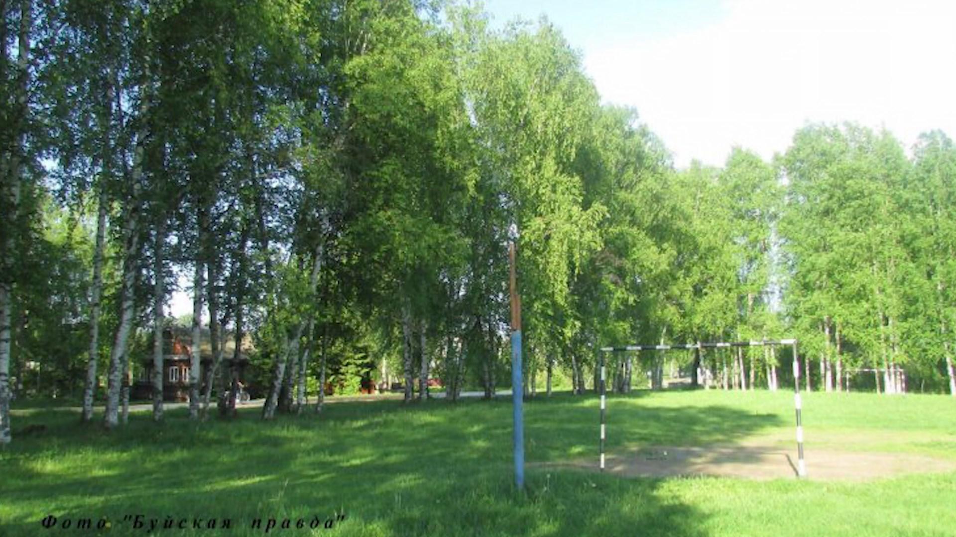 Парк в костромском райцентре оснастят новым футбольным полем