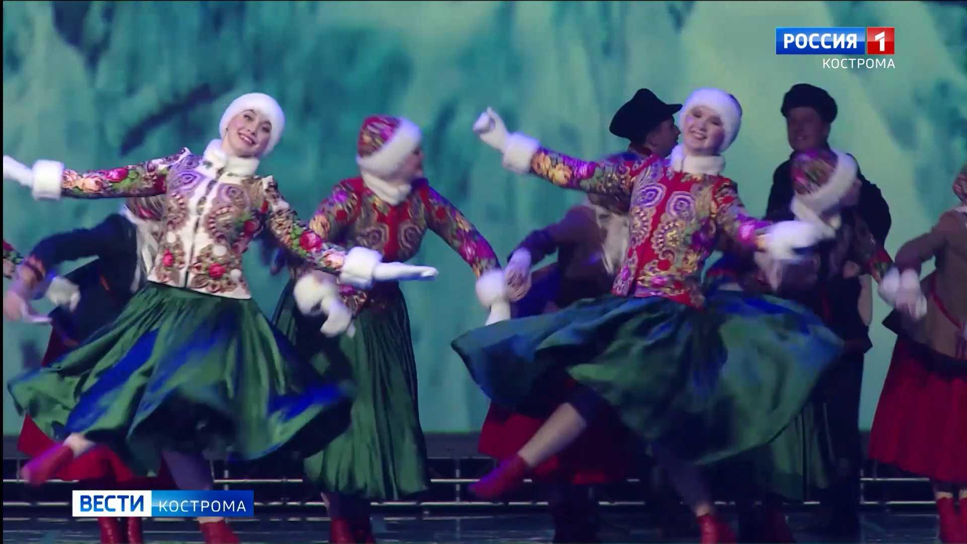 Костромские «Зимние забавы» покорили «Танцеманию»