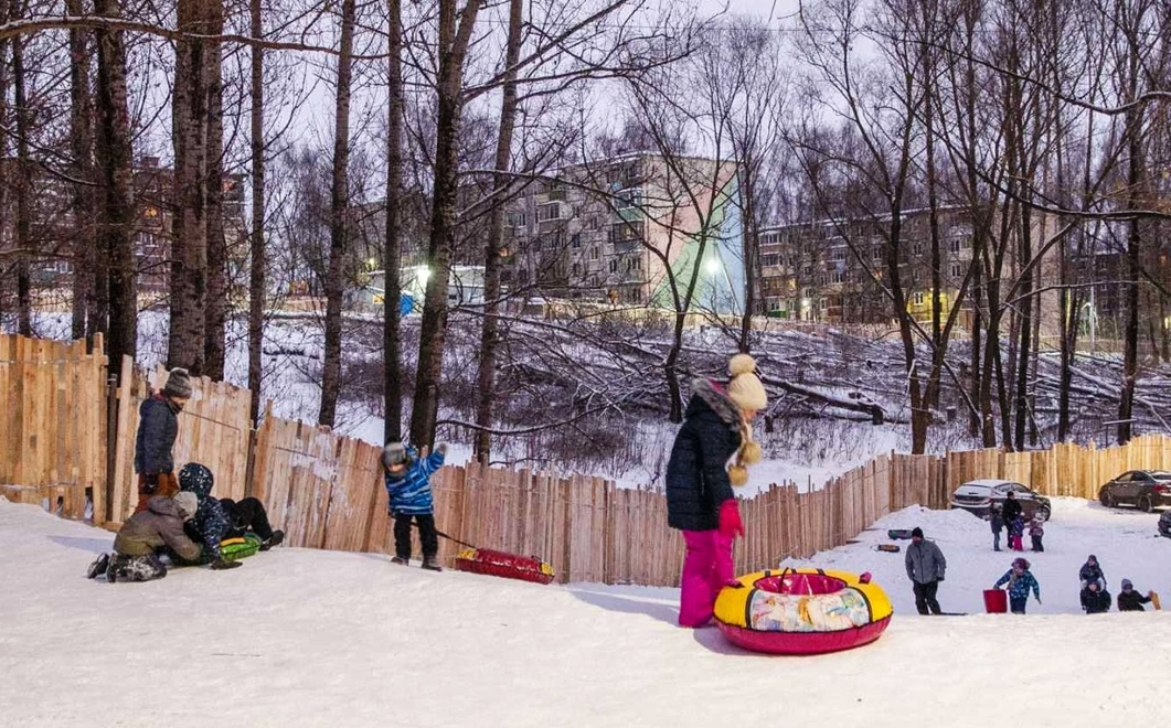 Власти Костромы пообещали сохранить горку у дома на Окружной