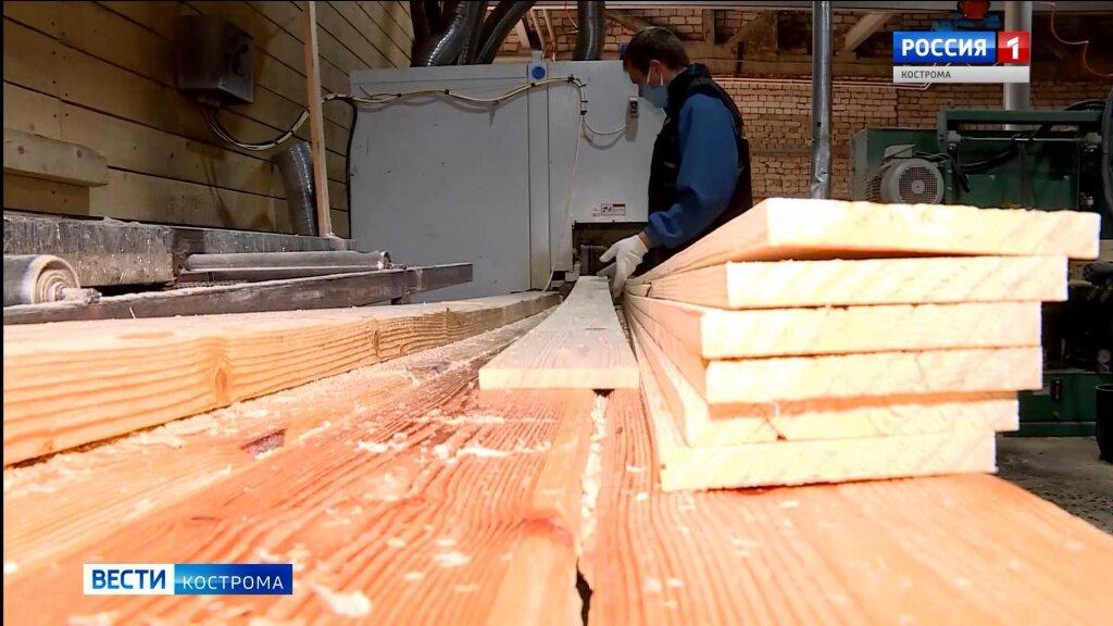 Больше всех прибыли в Костромской области получают деревообрабатывающие предприятия