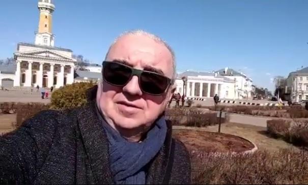 Лидер «Чайфа» Владимир Шахрин назвал Кострому итальянским городом
