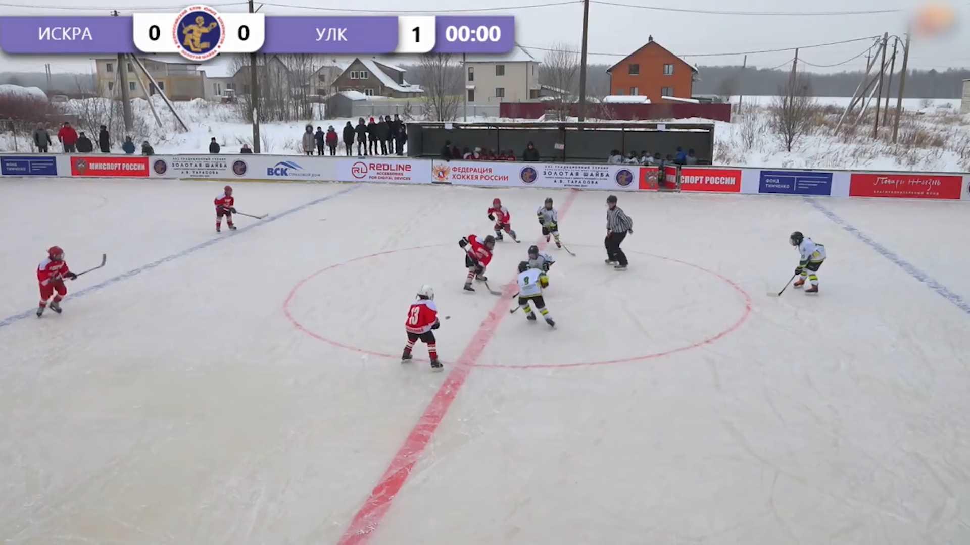 В Костромском районе завершился турнир по хоккею «Золотая шайба»
