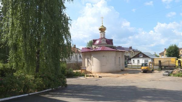 В Костроме освятят храм у 1-й Окружной больницы