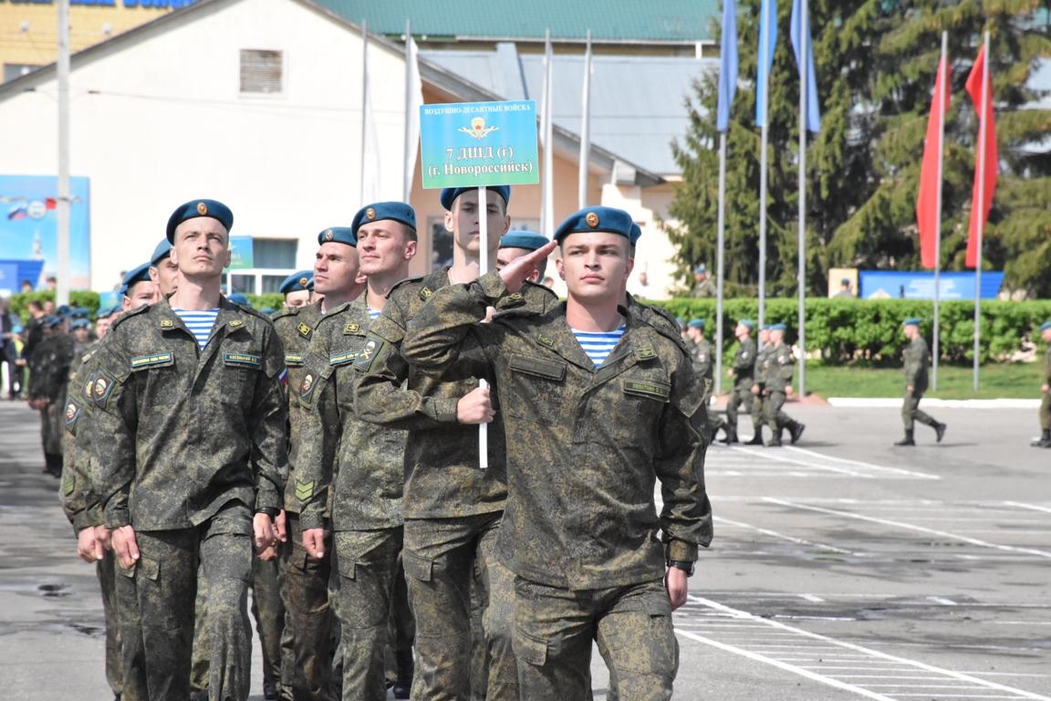 Кострома принимает участников Всероссийского конкурса «Десантный взвод»
