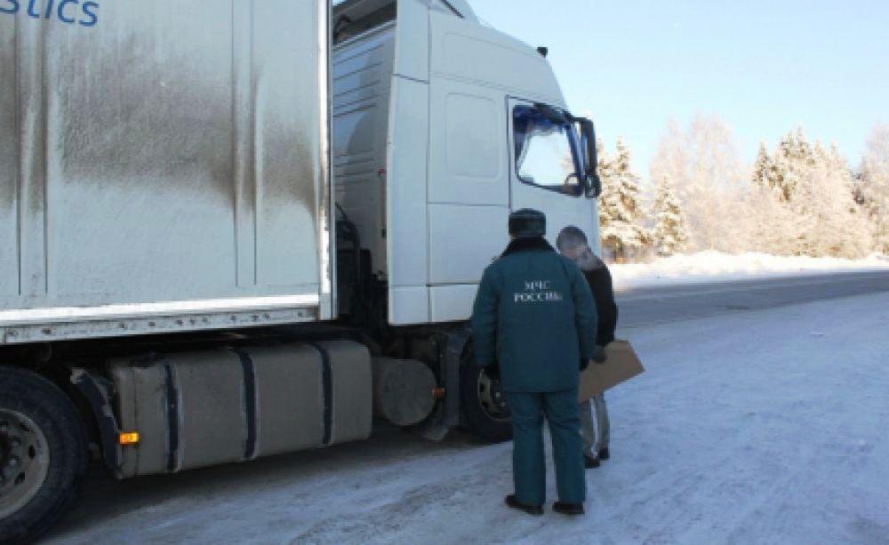 Патрулирование костромских дорог в морозы будет усилено