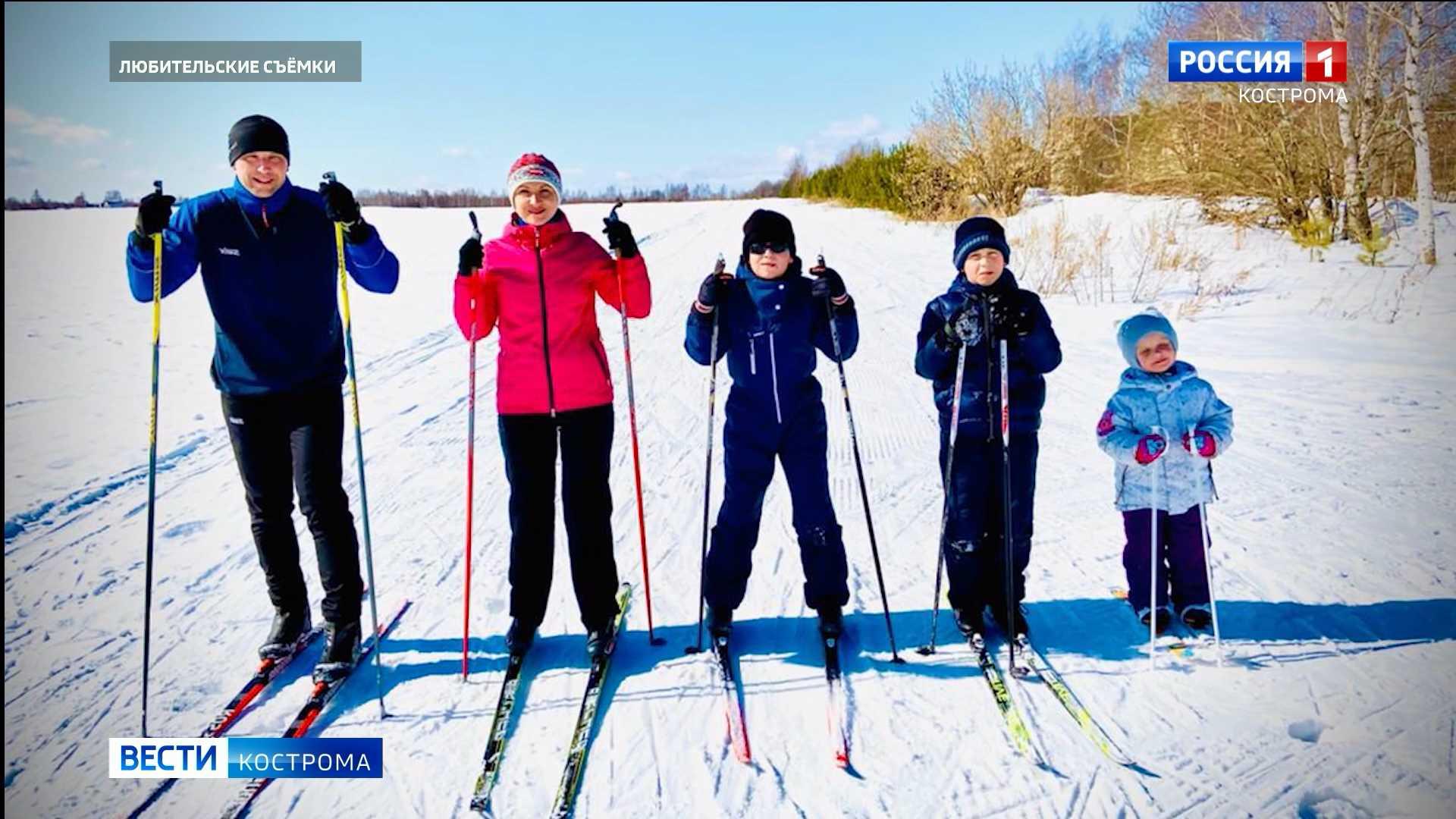 Костромичи на лыжах трижды обогнули земной шар за сезон