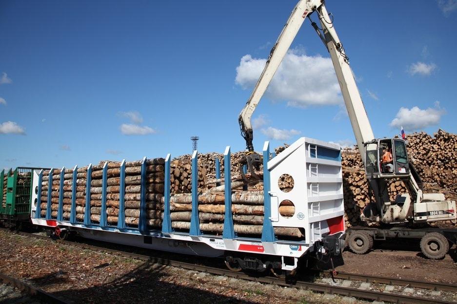 Костромской лес стал активнее ходить по железной дороге