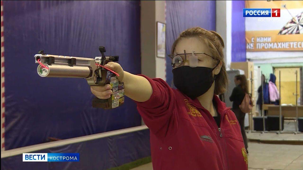 Честь Костромы защищают юные стрелки
