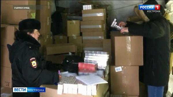 «Табачный магнат» прятал в костромских гаражах контрафакт на 6 миллионов