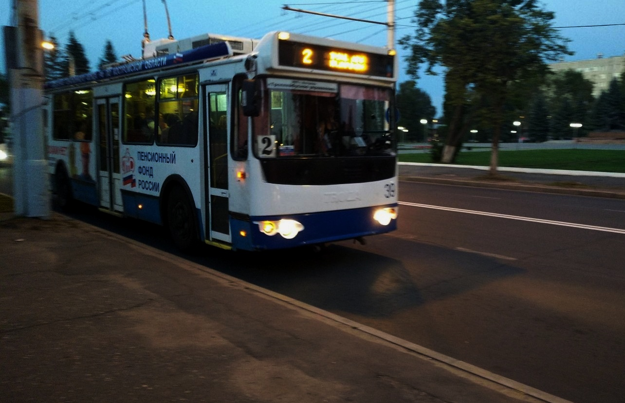 В Костроме не выйдут в рейсы вечерние троллейбусы до ж/д вокзала