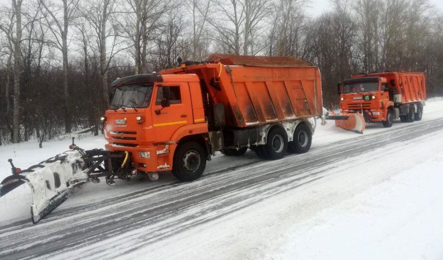С улиц Костромы за ночь убрали 377 тонн снега