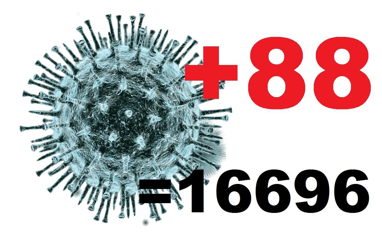У 88 жителей Костромской области за сутки подтвержден коронавирус