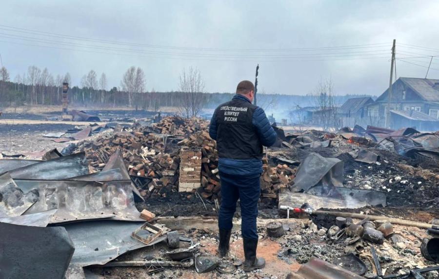 90-летняя бабушка погибла на пожаре в Костромской области