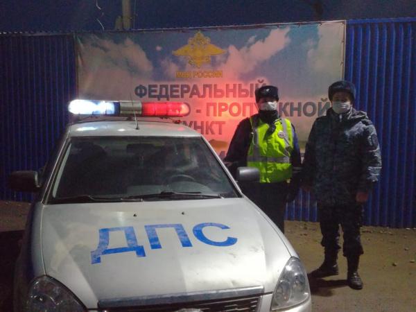 Костромские полицейские помогли пострадавшим в ДТП в Дагестане