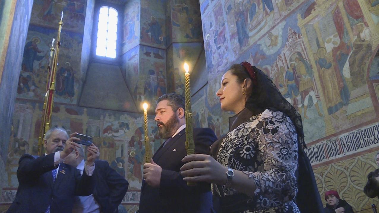 В Костроме состоялась помолвка Великого князя Георгия Романова