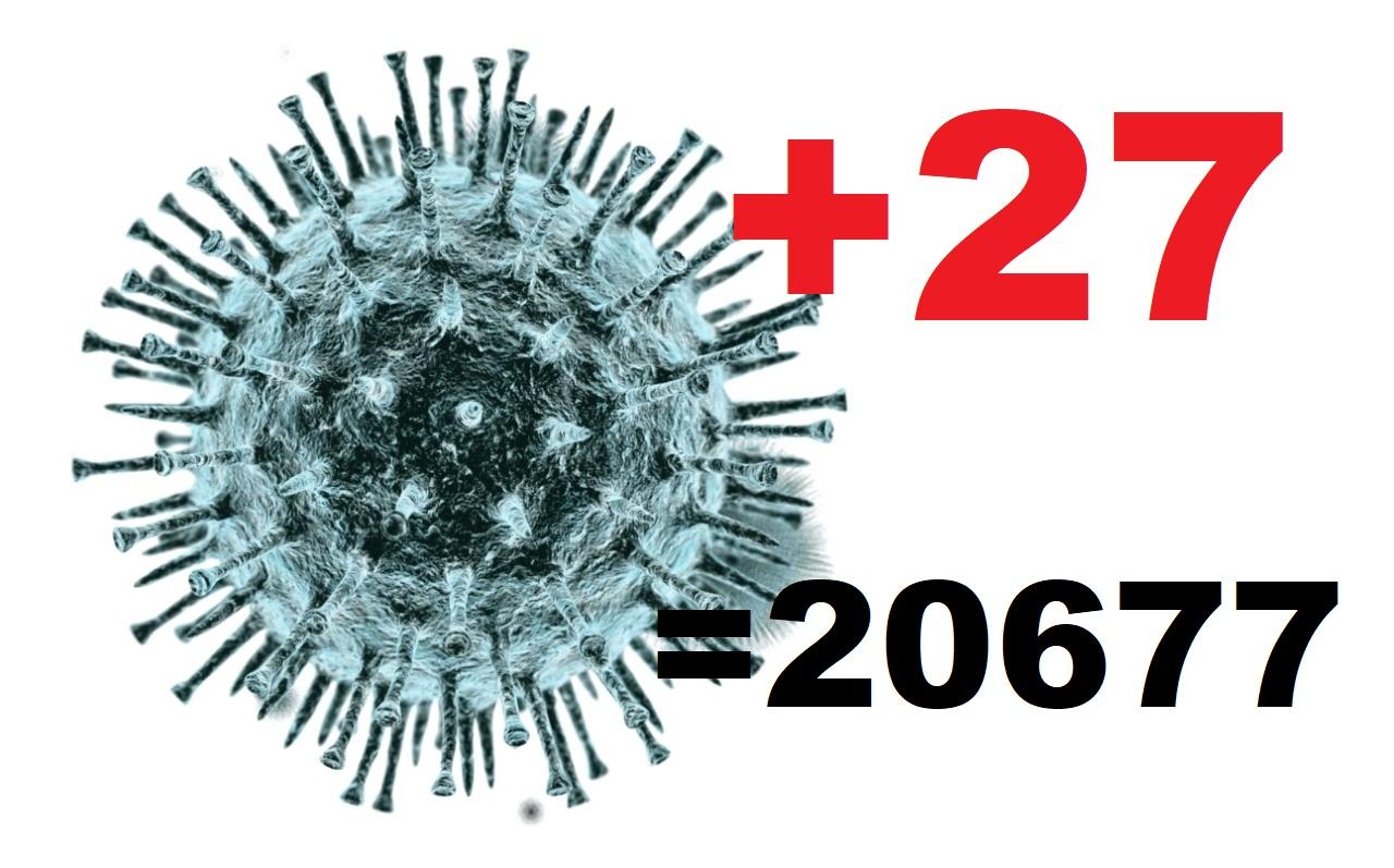 Коронавирус диагностирован за сутки еще у 27 жителей Костромской области