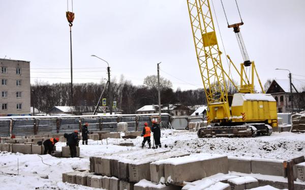 Стены дома для переселенцев в Костроме начнут возводить в феврале