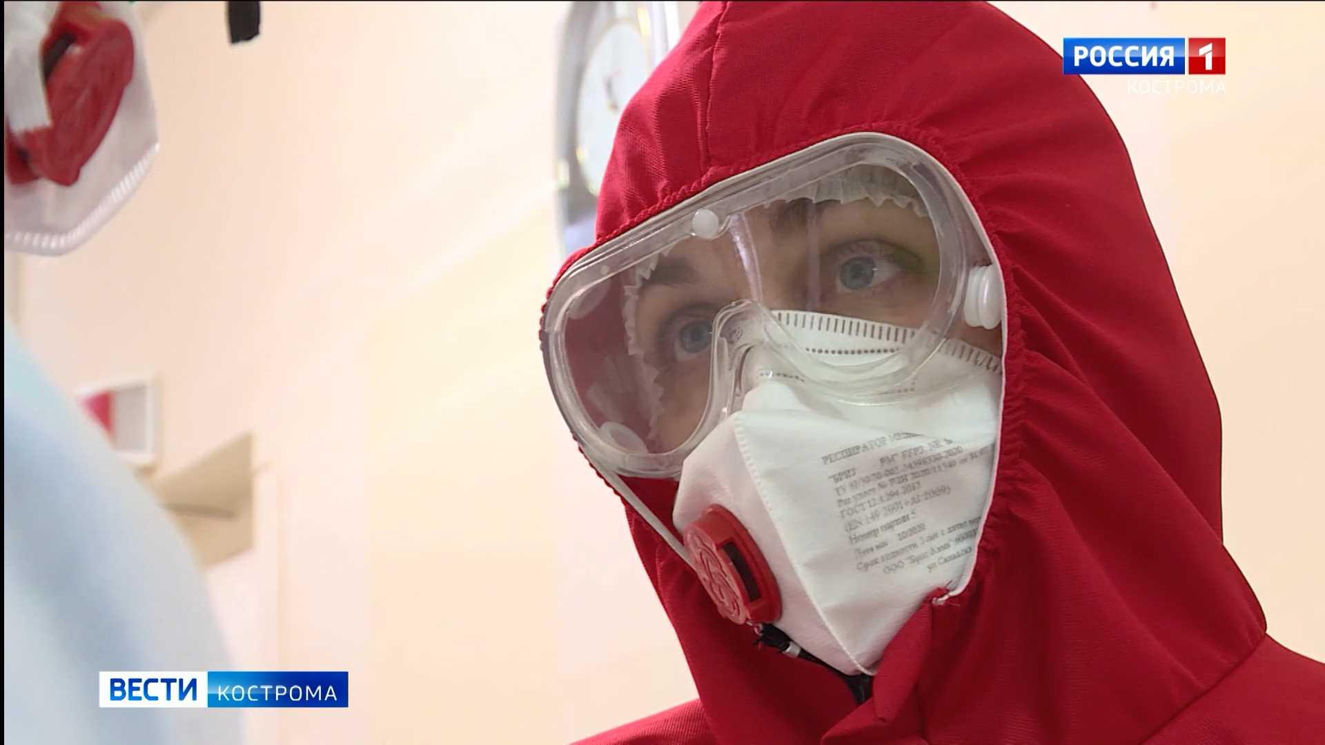«Три недели – как полгода»: врачи в костромских красных зонах работают на износ