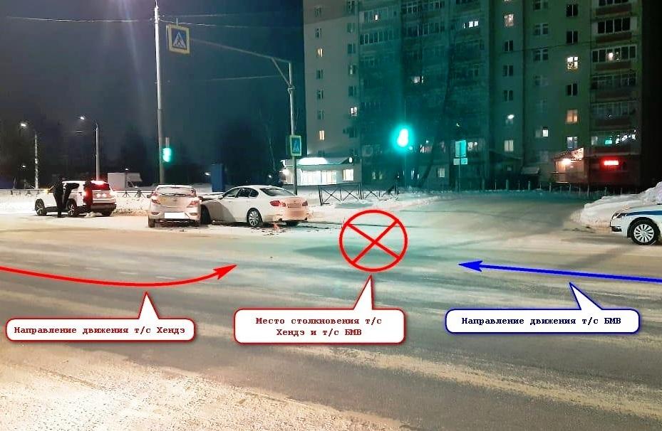 Неуступчивый «Хёндай» спровоцировал ДТП у «Костромича»