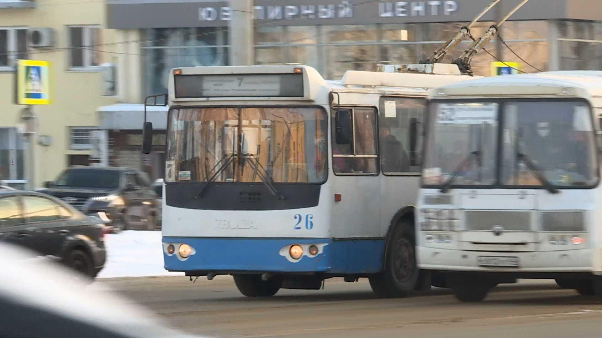 В Костроме хотят организовать обучение водителей троллейбусов