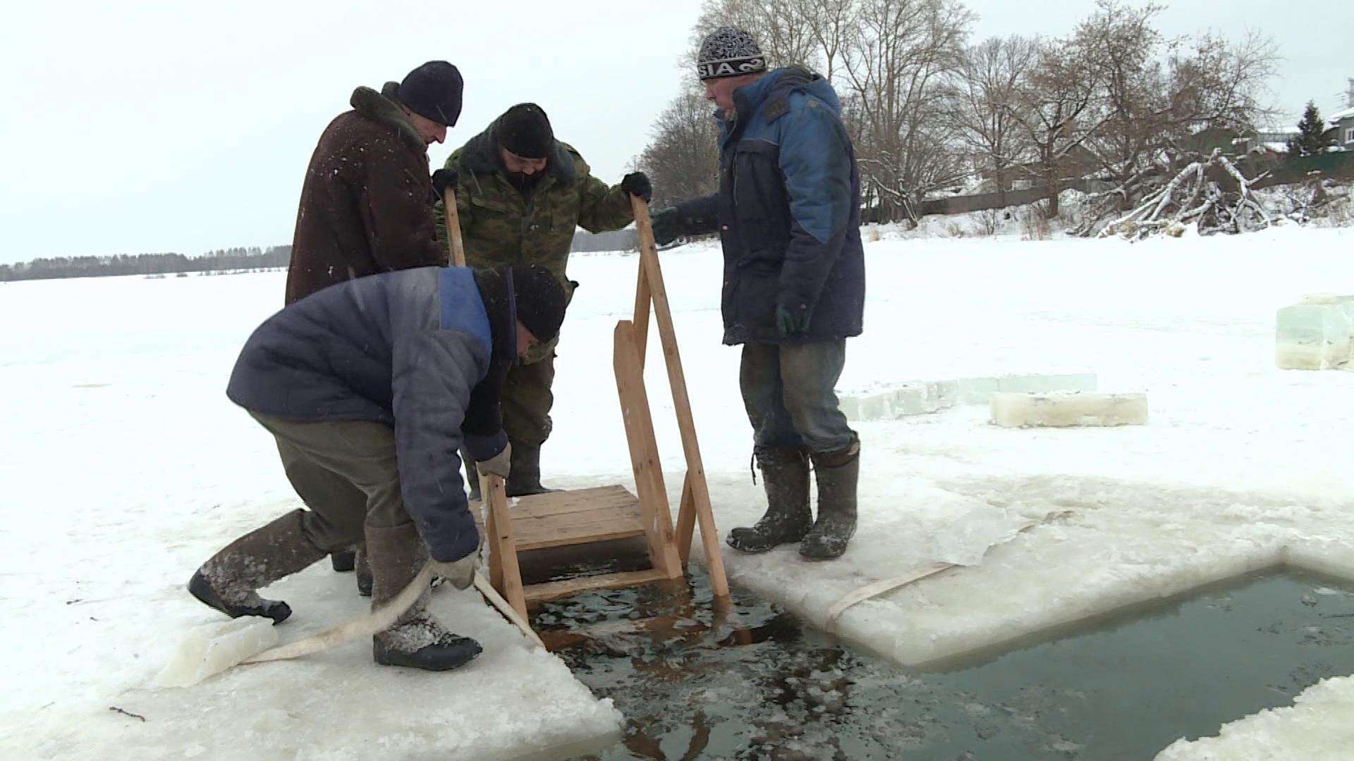 В Костромской области оборудуют 29 ледяных купелей на Крещение