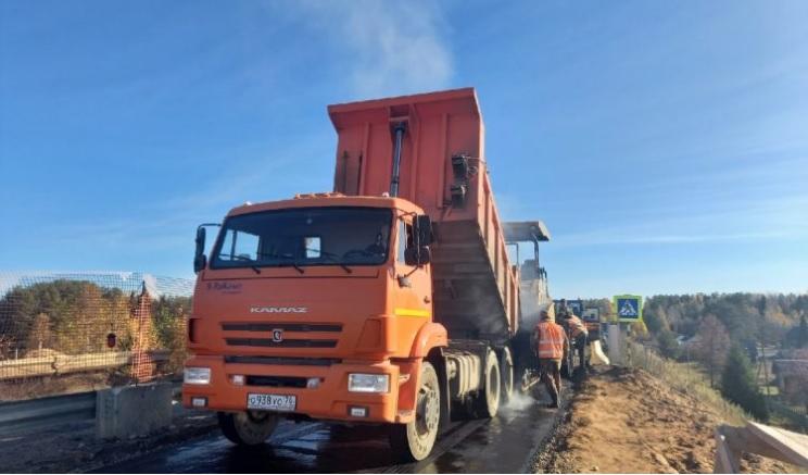 На северо-востоке Костромской области завершается ремонт двух мостов