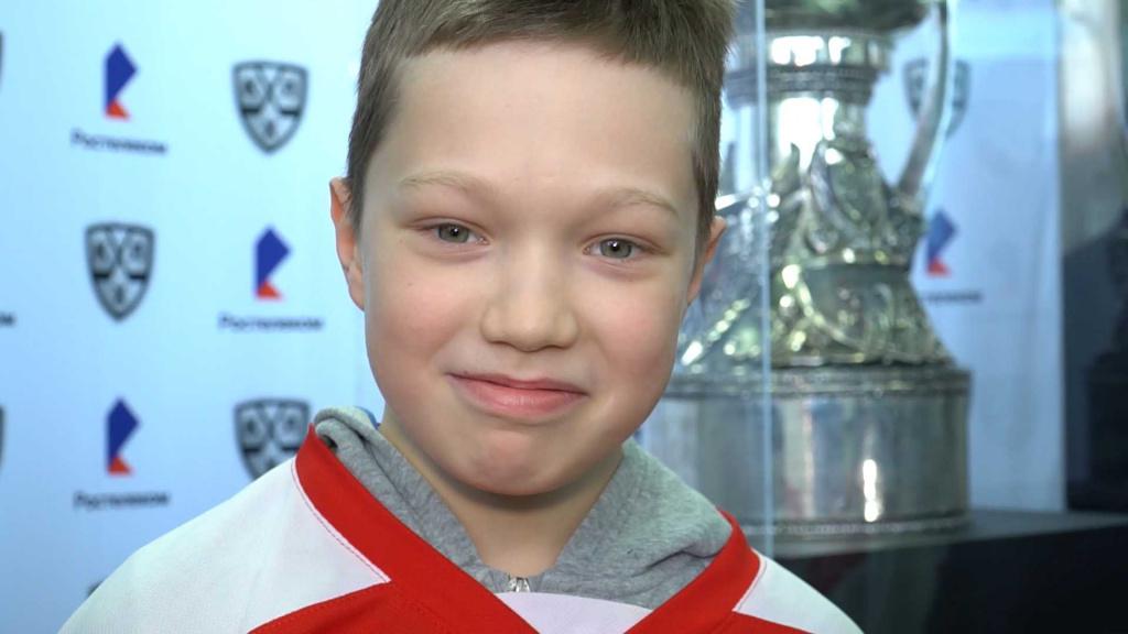 Юные костромские хоккеисты увидели свою мечту наяву