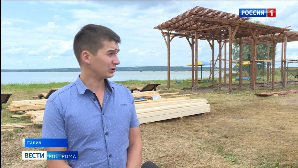 Галичане успеют позагорать на новом пляже в этом сезоне