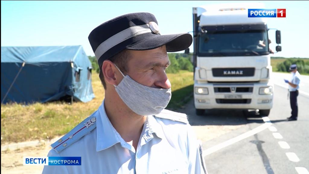 Уставших водителей на костромских трассах приютят новые пункты отдыха