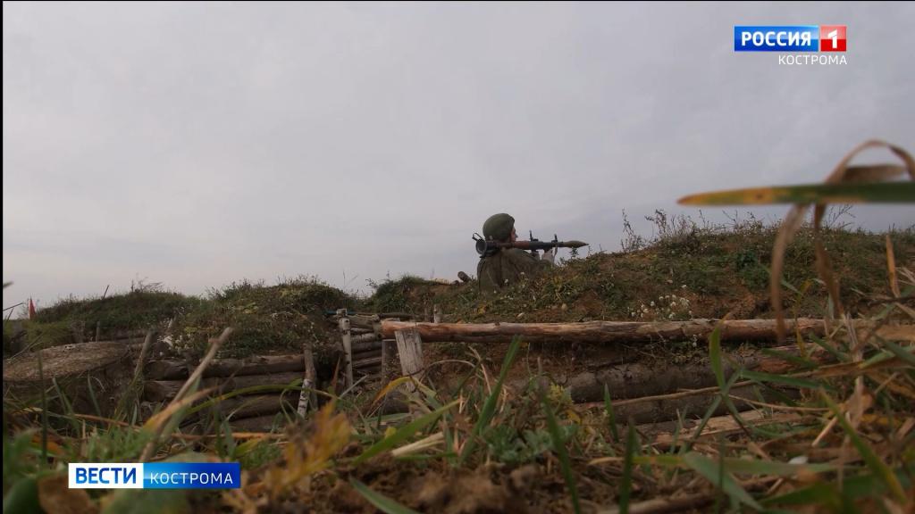 Враг не пройдёт: десантники устроили засаду под Костромой
