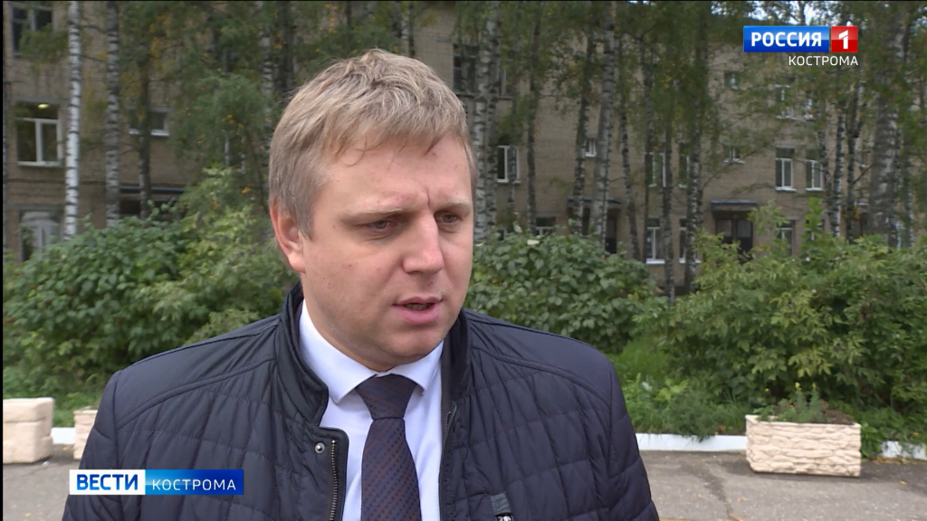 В пульмоотделении Окружной больницы Костромы начался капремонт