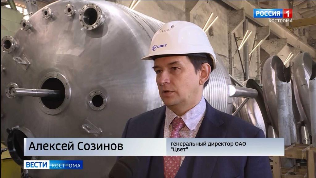 Завод «Цвет» в Костроме наладил производство спецмебели для медиков и фармкомпаний