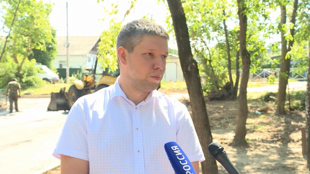 В Костроме возобновили работы по благоустройству дворов