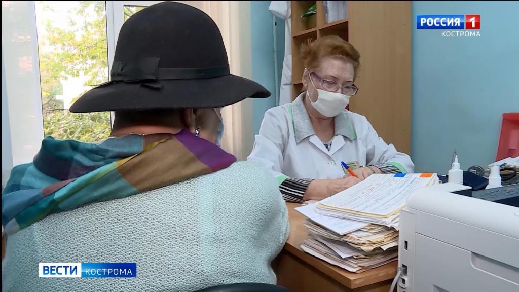 Поликлиники Костромы захлебываются в вызовах пациентов
