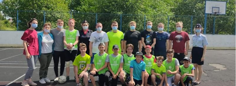 Футболисты из Чухломской полиции не поддались школьникам