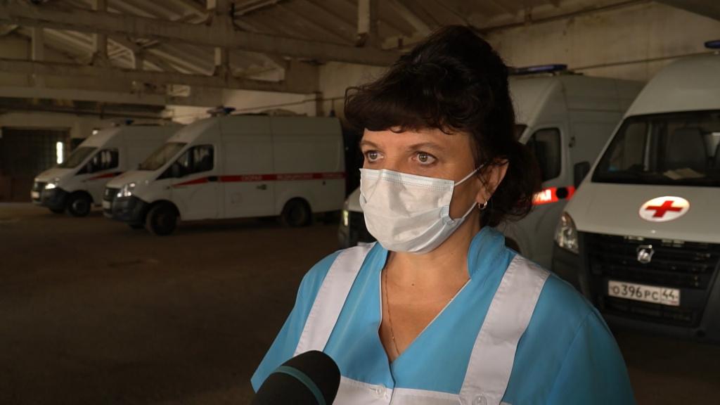 Число вызовов «Скорой помощи» в Костроме увеличилось в полтора раза за месяц