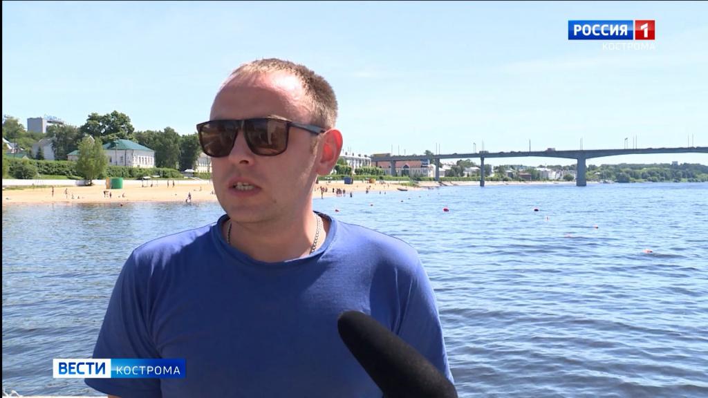 За отдыхающими на воде костромичами спасатели смотрят в оба
